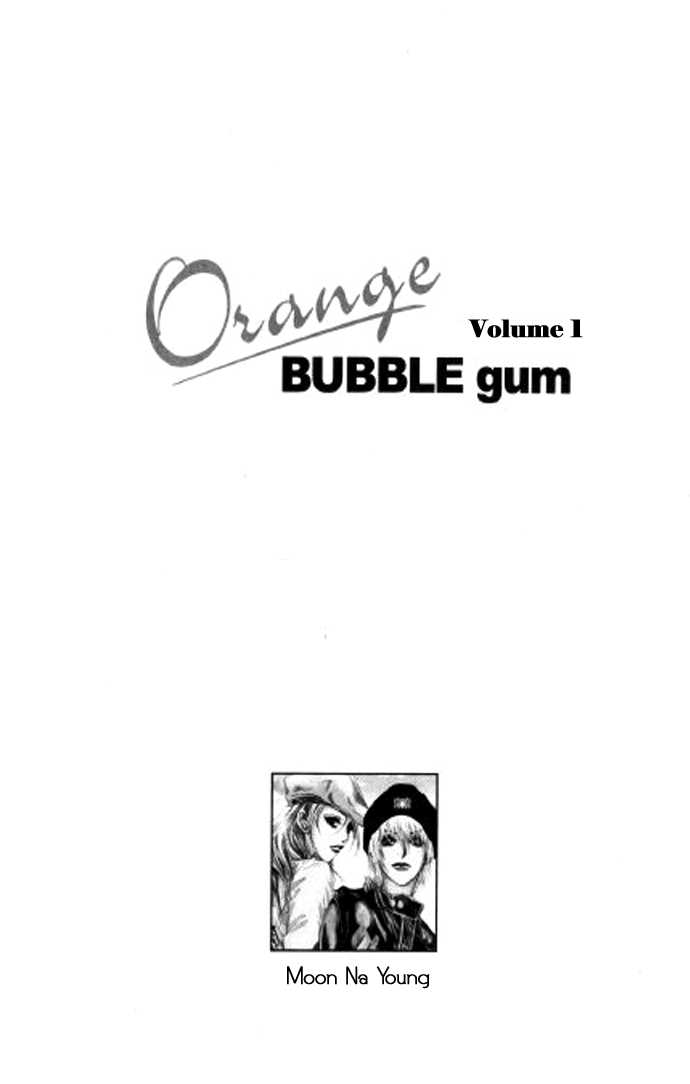 Orange Bubble Gum 1 Page 1