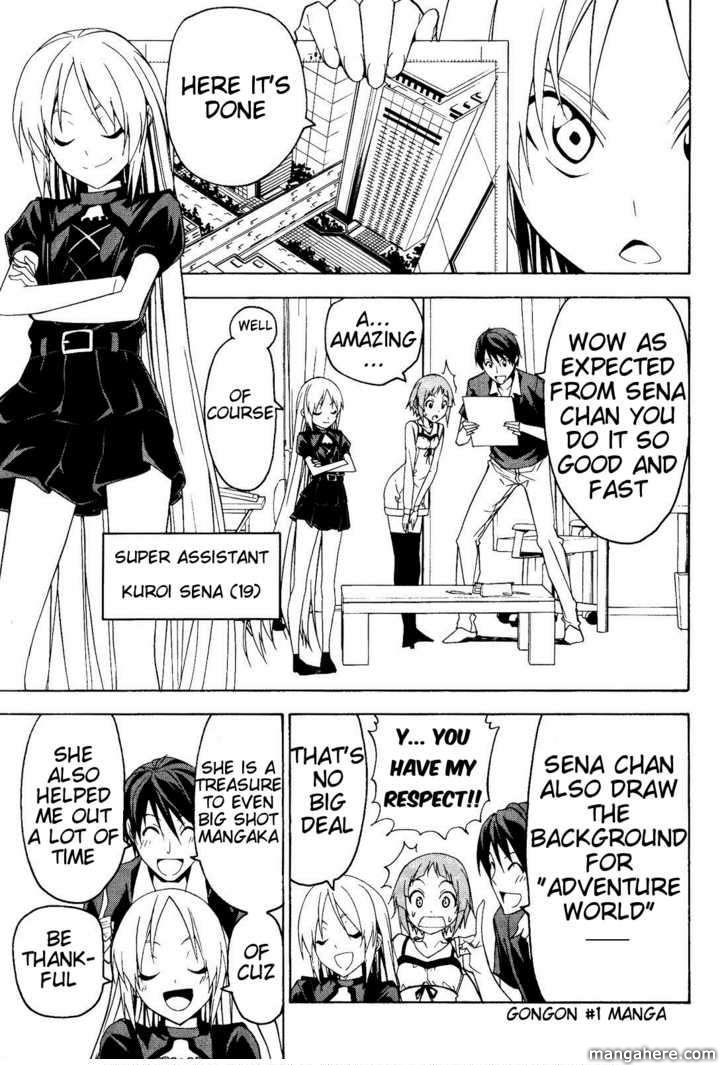 Mangaka-san to Assistant-san to 55 Page 1