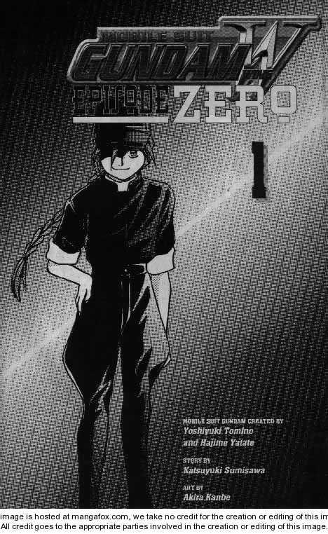 Shin Kidou Senki Gundam W: Episode Zero 1 Page 2