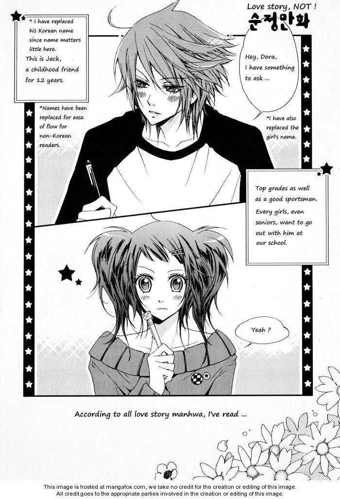 Love Story, Not! 1 Page 1