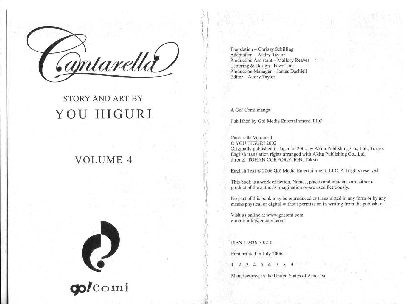 Cantarella 0 Page 3