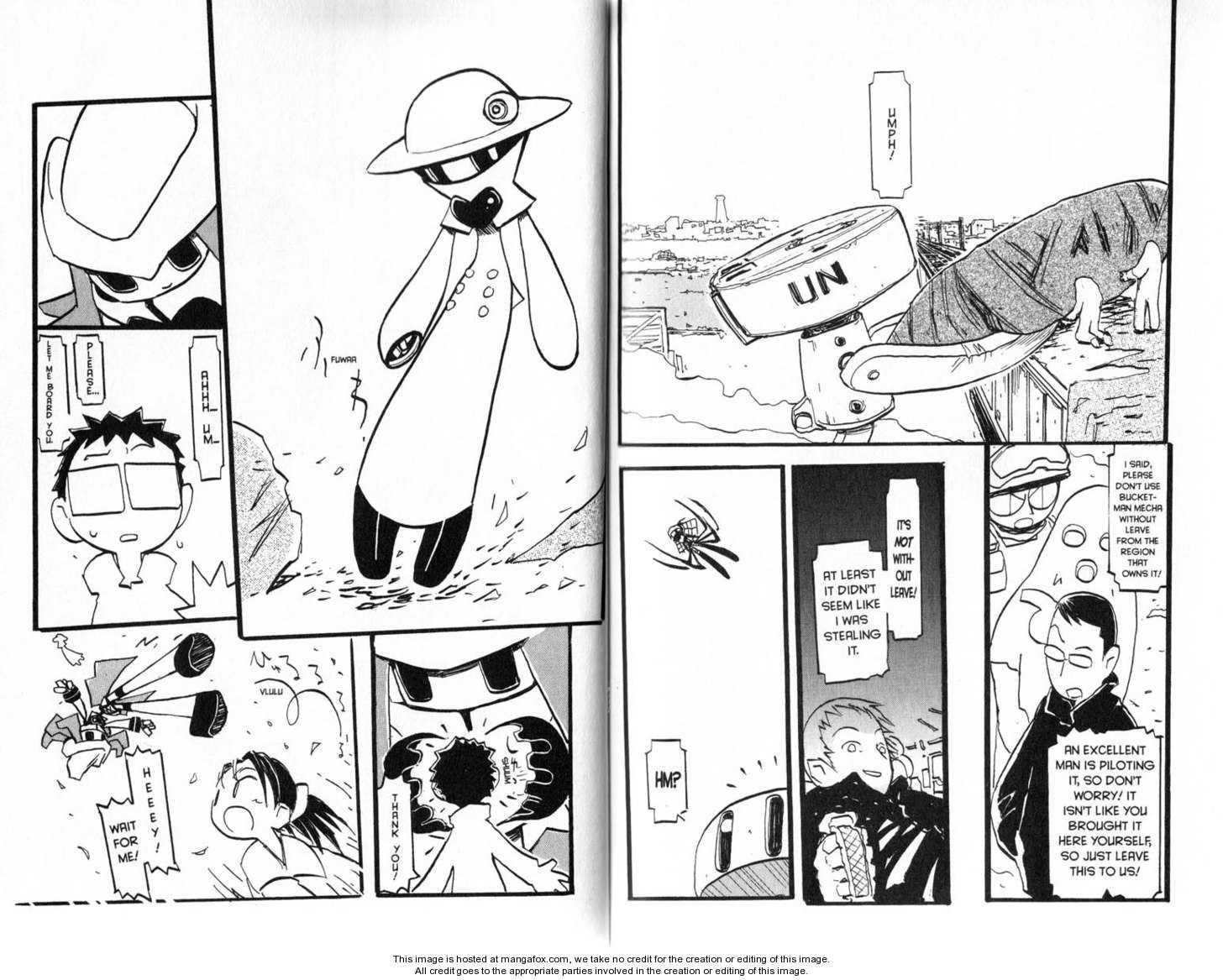 Q-ko-chan the Chikyuu Shinryaku Shoujo 9 Page 2