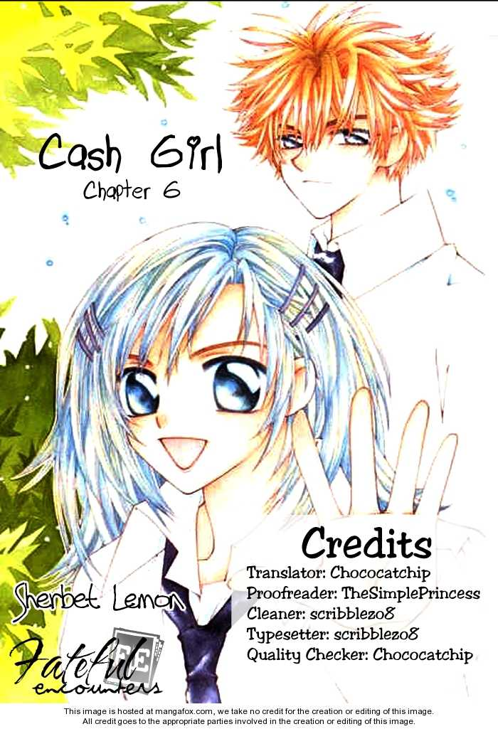 Cash Girl 6 Page 1