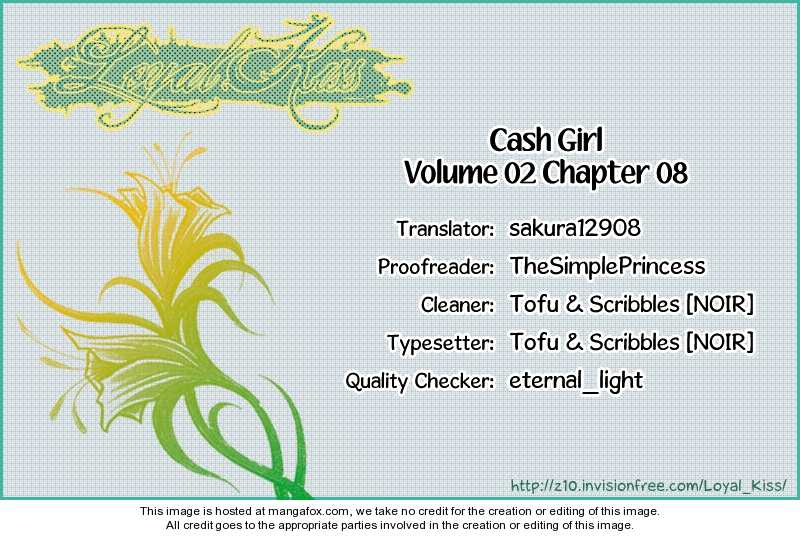 Cash Girl 8 Page 1