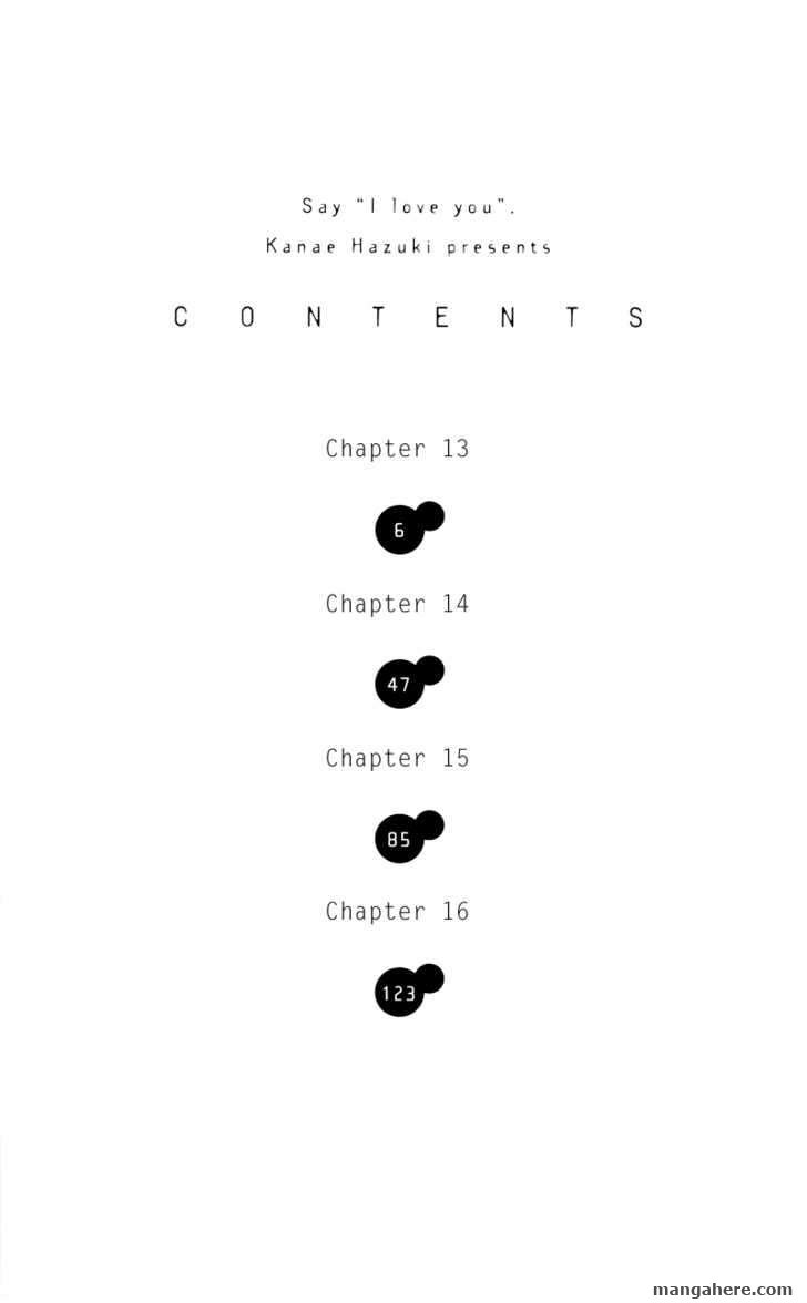 Sukitte Ii na yo 13 Page 3