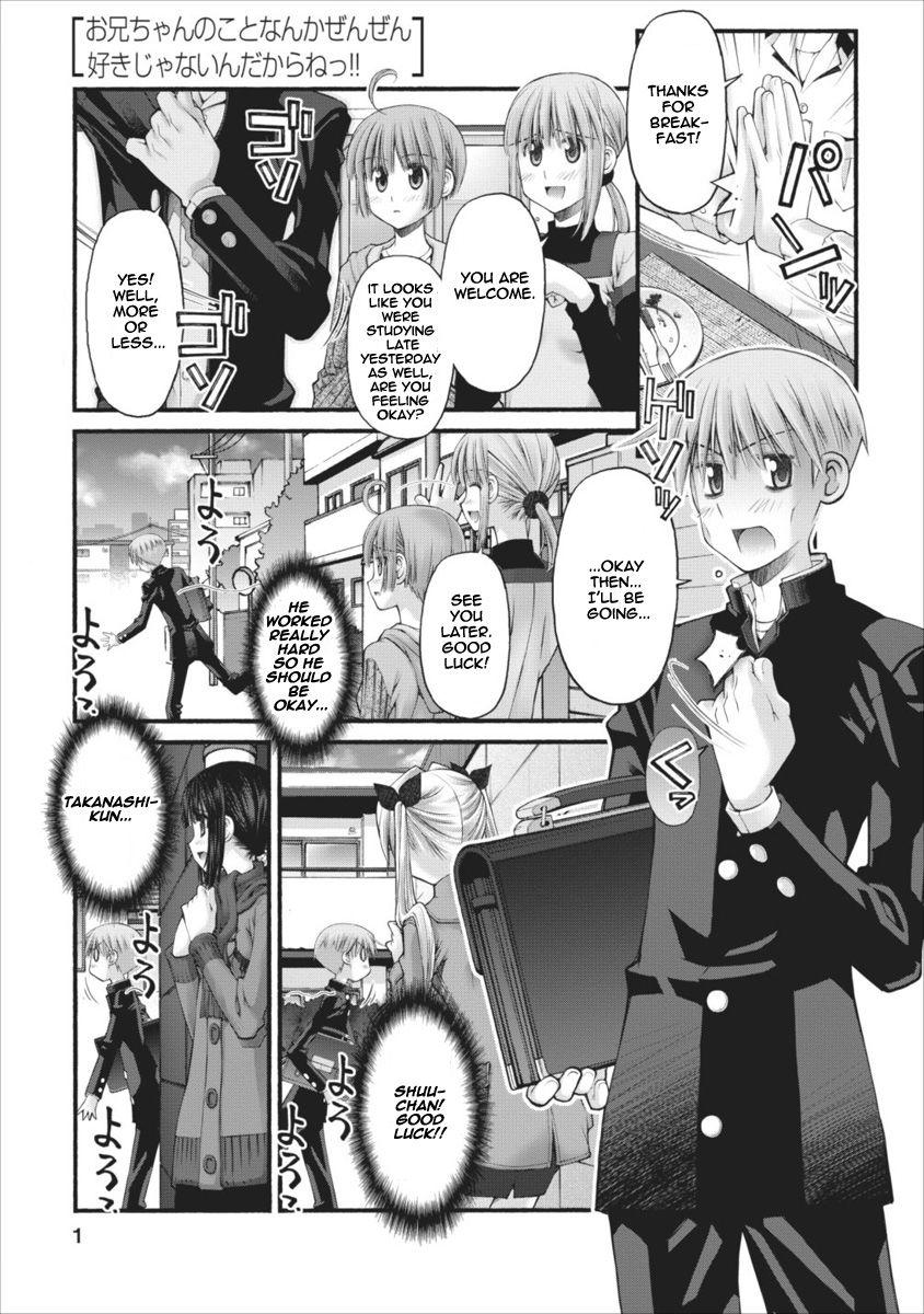 Oniichan no Koto Nanka Zenzen Suki ja Nai n da kara ne 53 Page 2