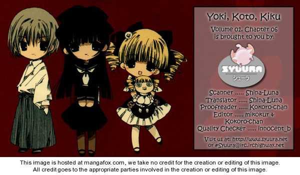 Yoki, Koto, Kiku 6 Page 1