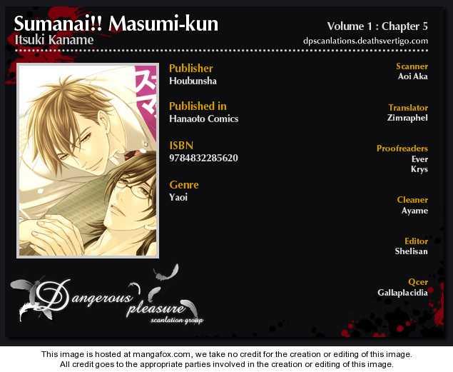 Sumanai!! Masumi-kun 5 Page 2