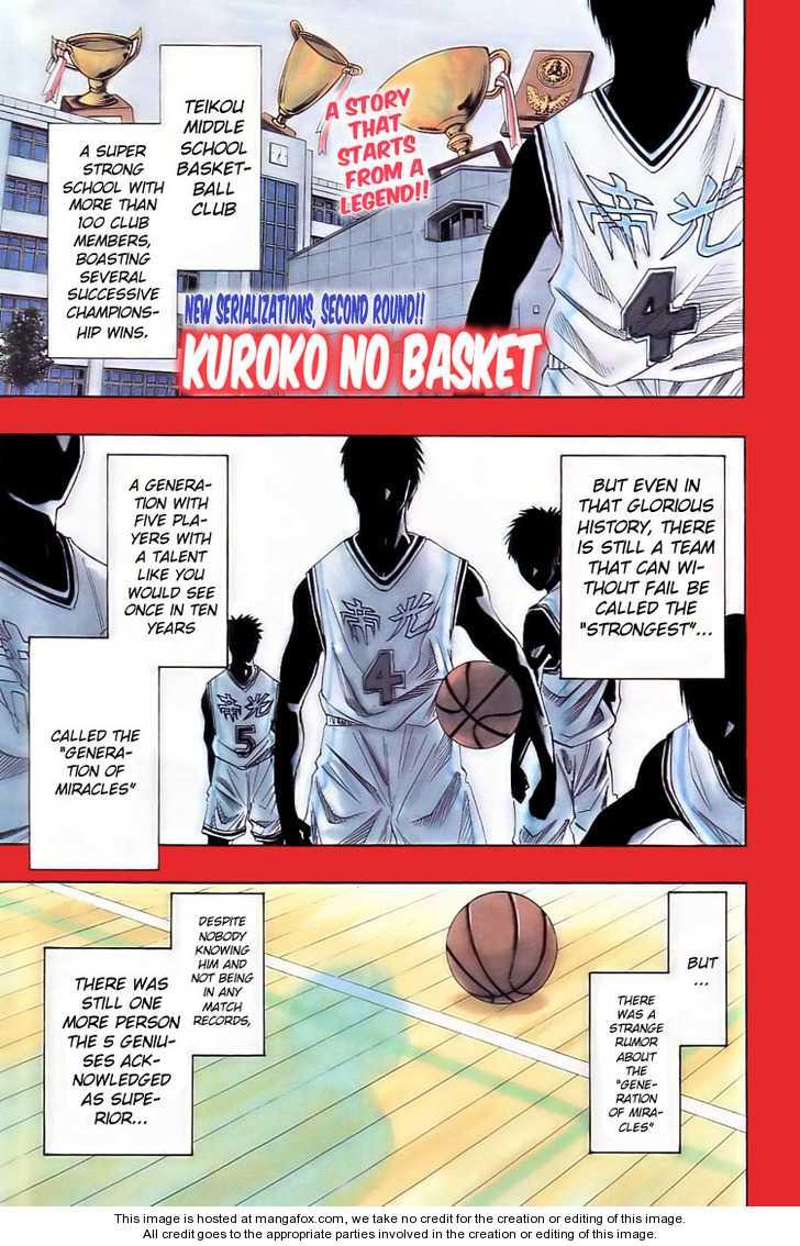 Kuroko no Basket 1 Page 2