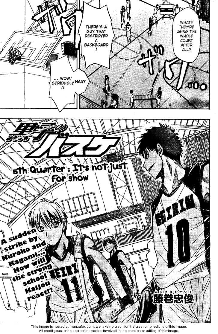 Kuroko no Basket 5 Page 1