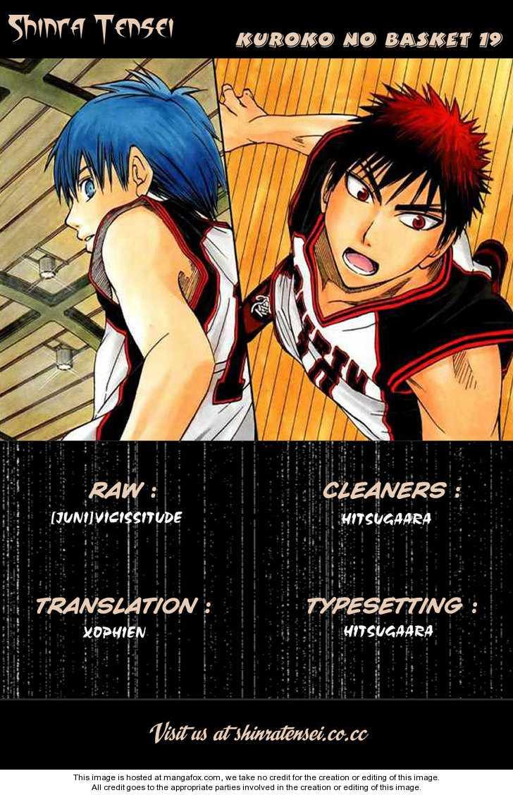 Kuroko no Basket 19 Page 1