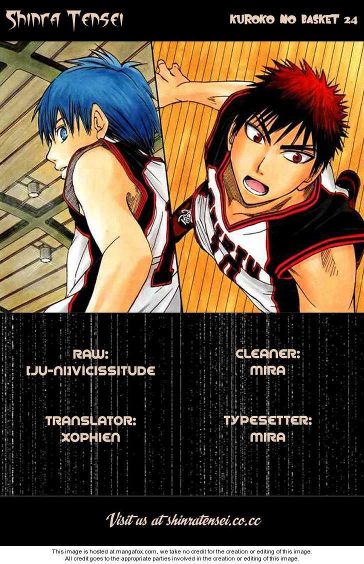 Kuroko no Basket 24 Page 1