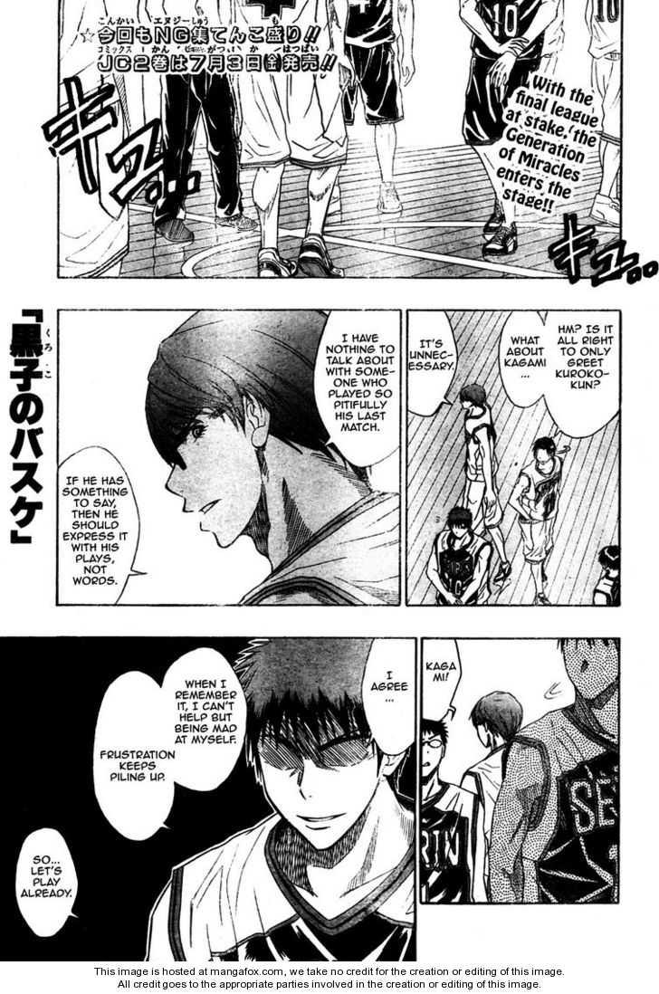 Kuroko no Basket 26 Page 1