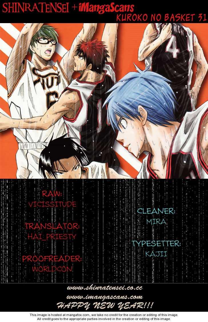 Kuroko no Basket 31 Page 1