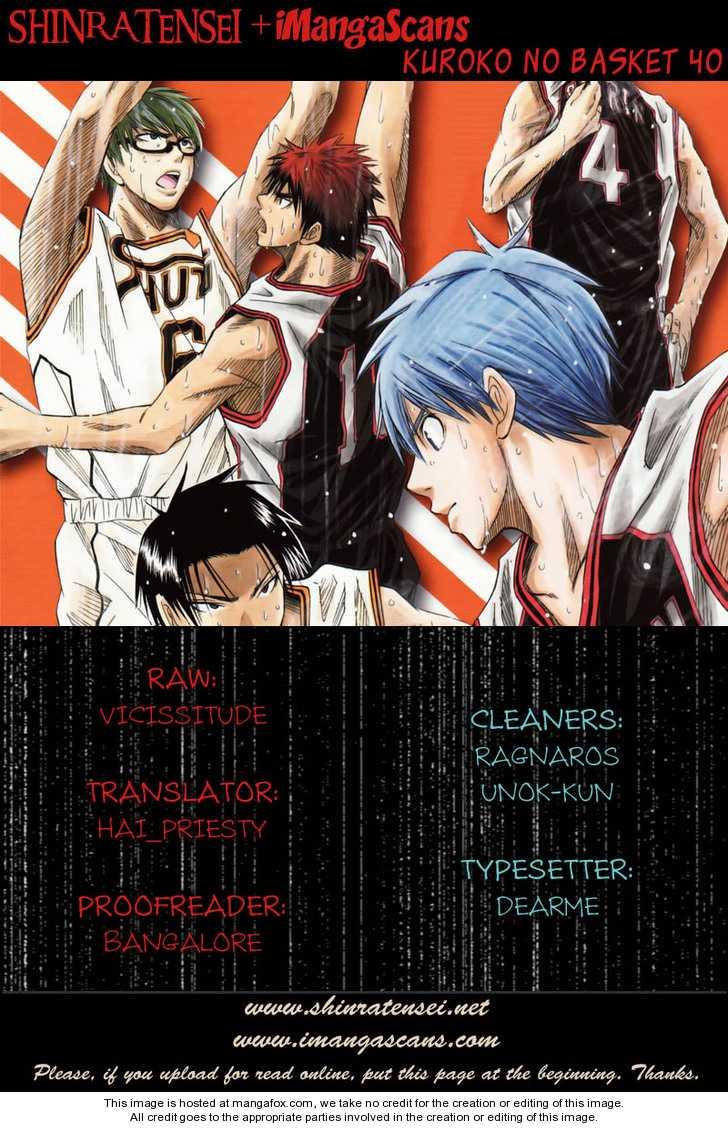 Kuroko no Basket 40 Page 1
