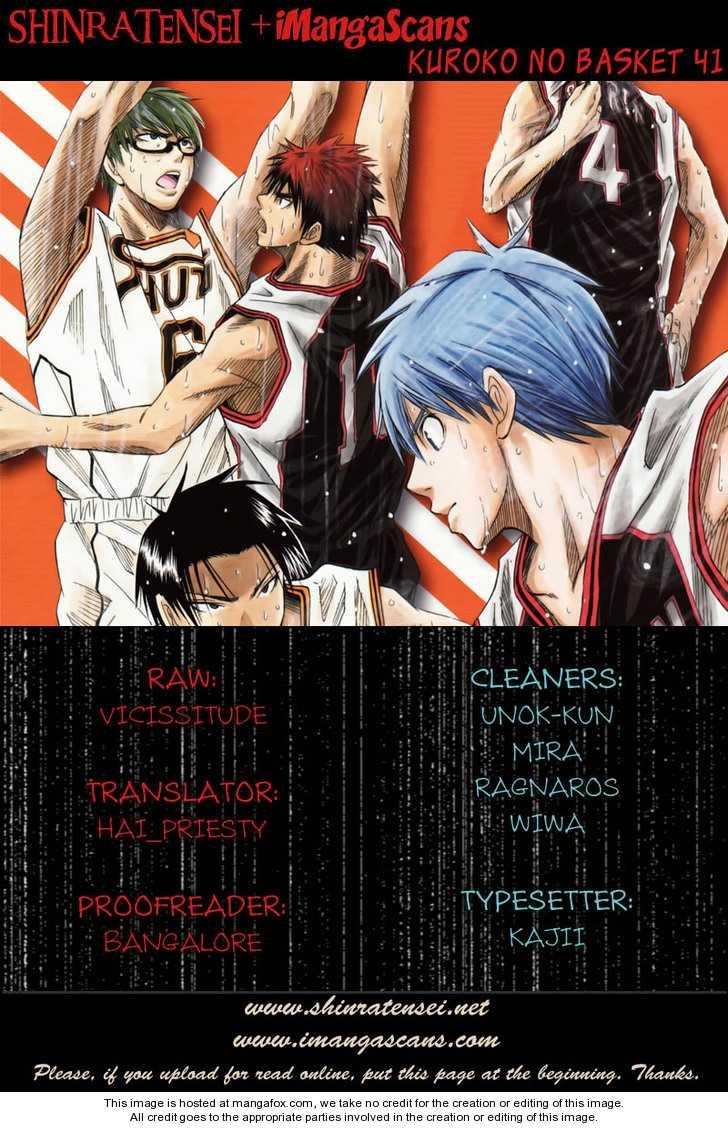 Kuroko no Basket 41 Page 1