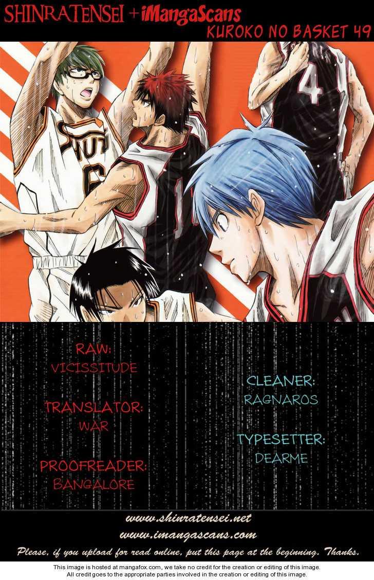 Kuroko no Basket 49 Page 1