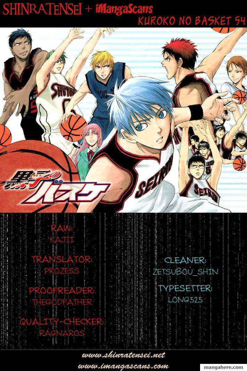 Kuroko no Basket 54 Page 1