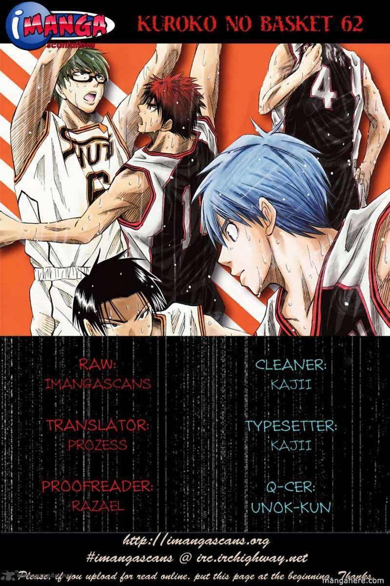 Kuroko no Basket 62 Page 1