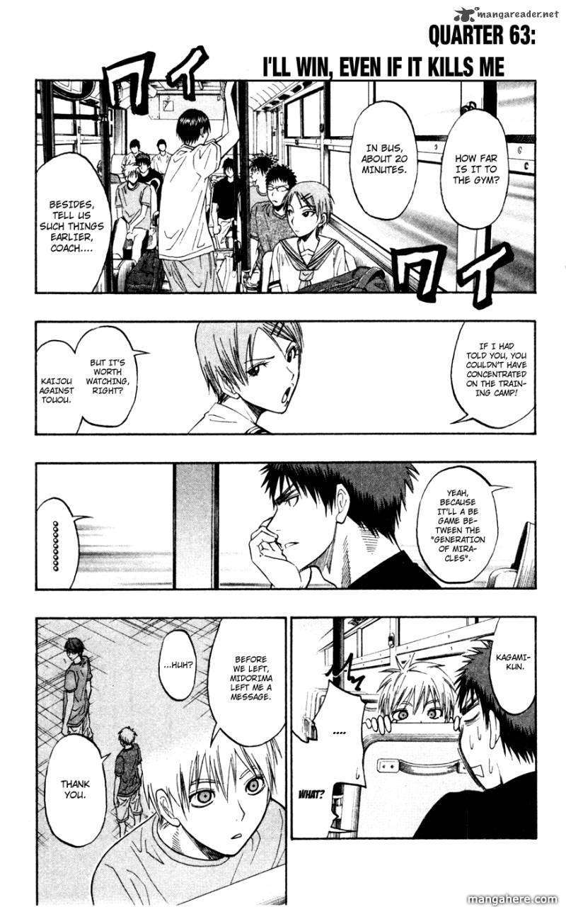 Kuroko no Basket 63 Page 1