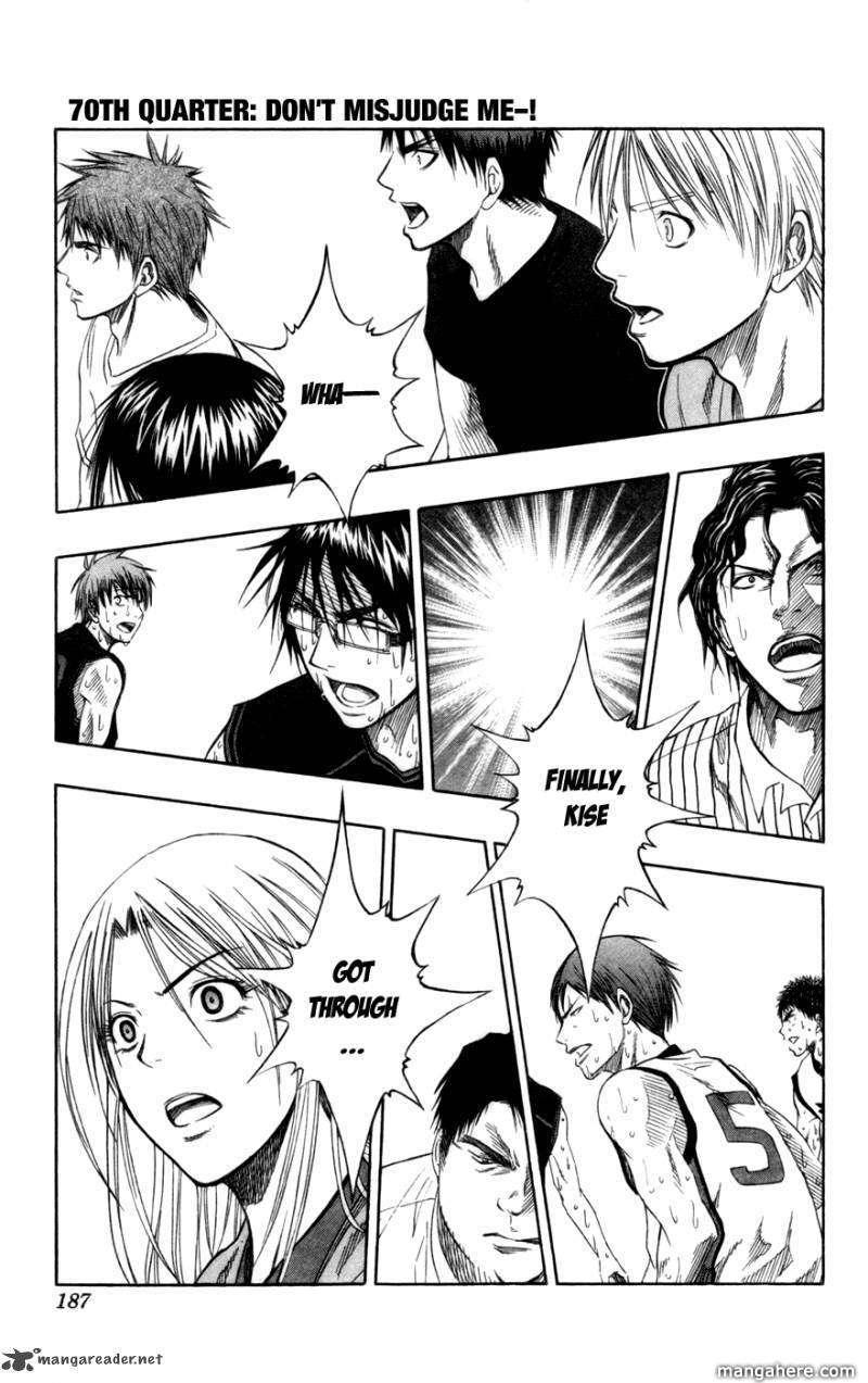 Kuroko no Basket 70 Page 1