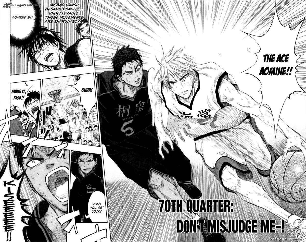 Kuroko no Basket 70 Page 2