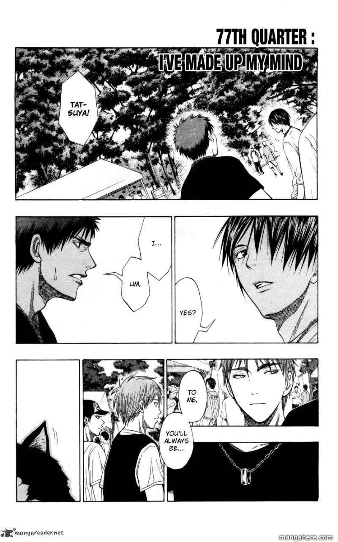 Kuroko no Basket 77 Page 1