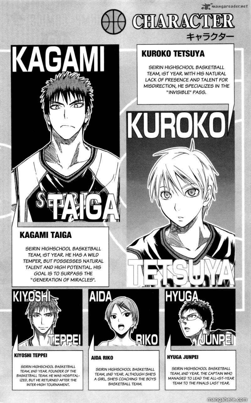 Kuroko no Basket 81 Page 3