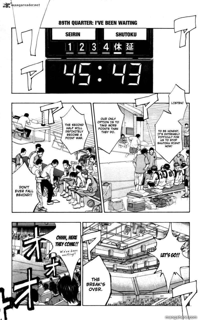 Kuroko no Basket 89 Page 1