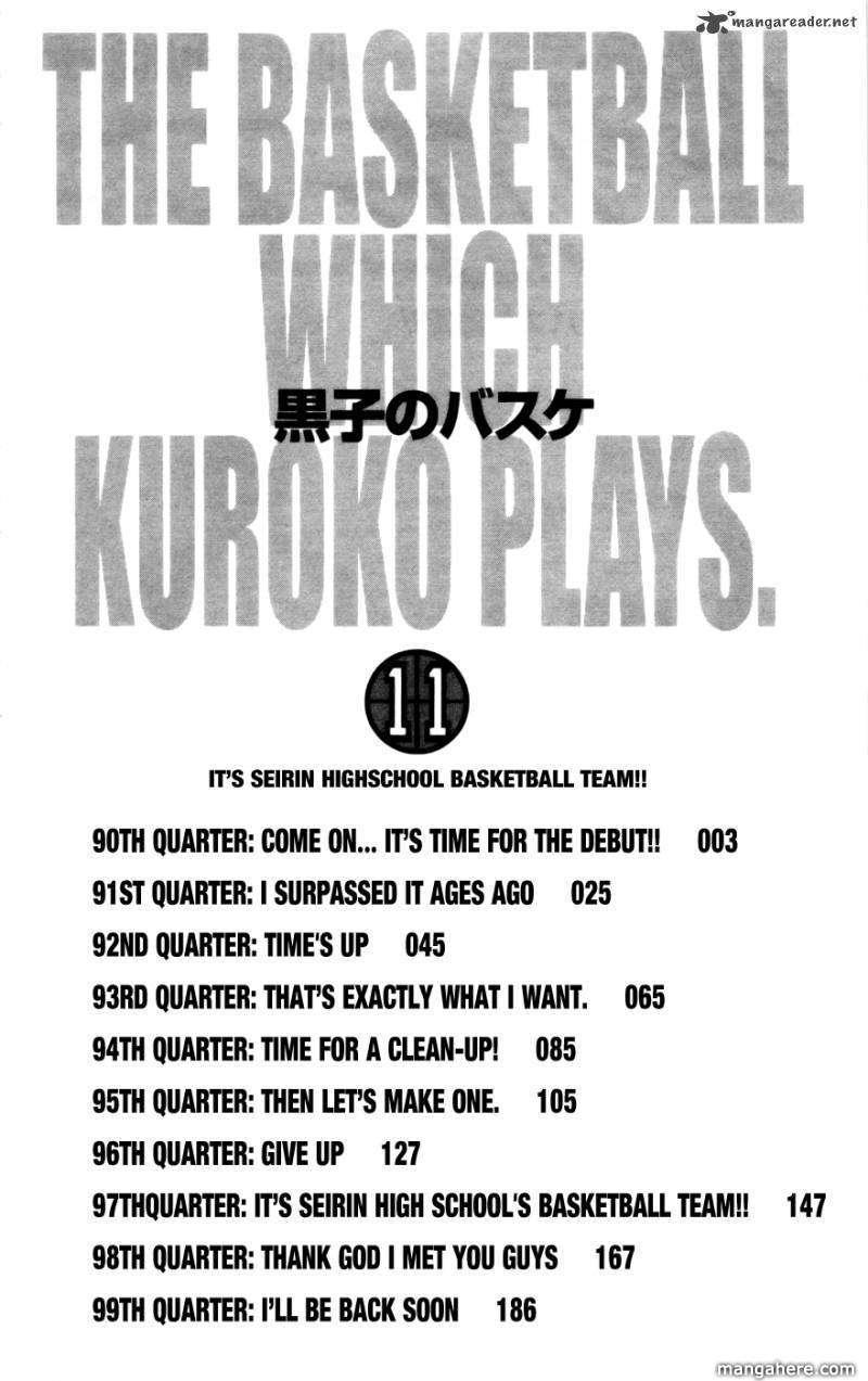 Kuroko no Basket 90 Page 3