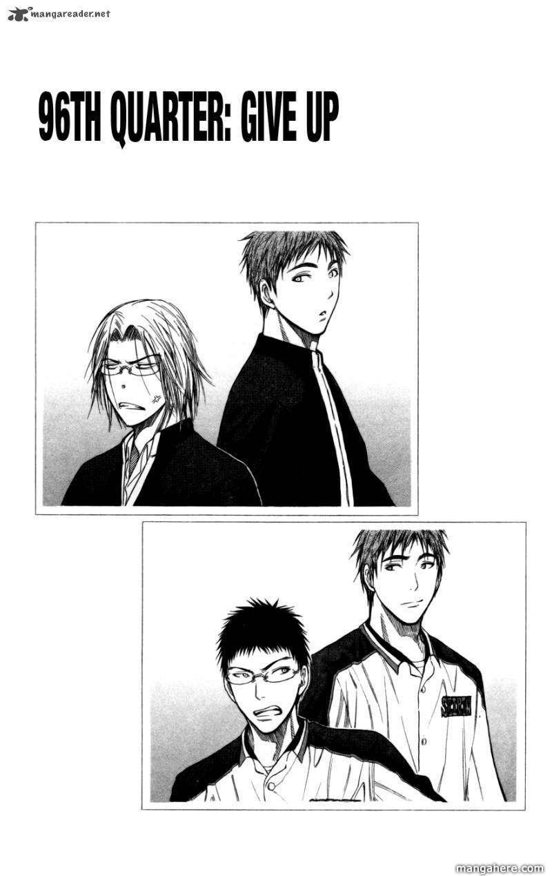 Kuroko no Basket 96 Page 1
