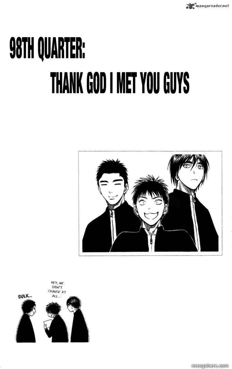 Kuroko no Basket 98 Page 1