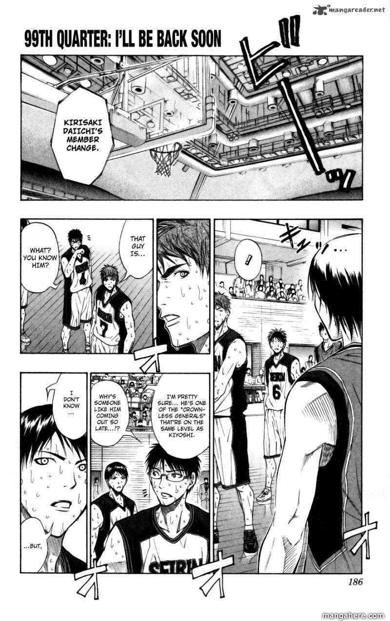 Kuroko no Basket 99 Page 1