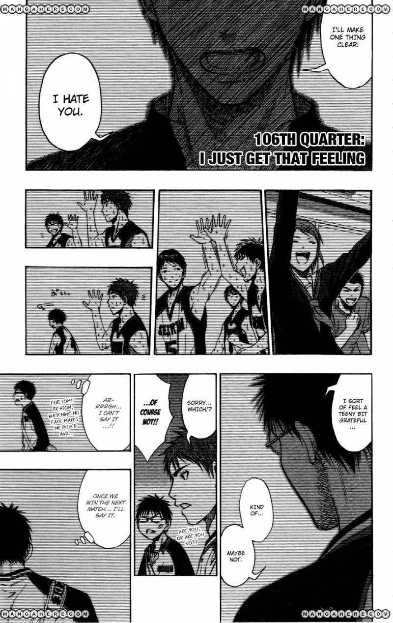Kuroko no Basket 106 Page 1