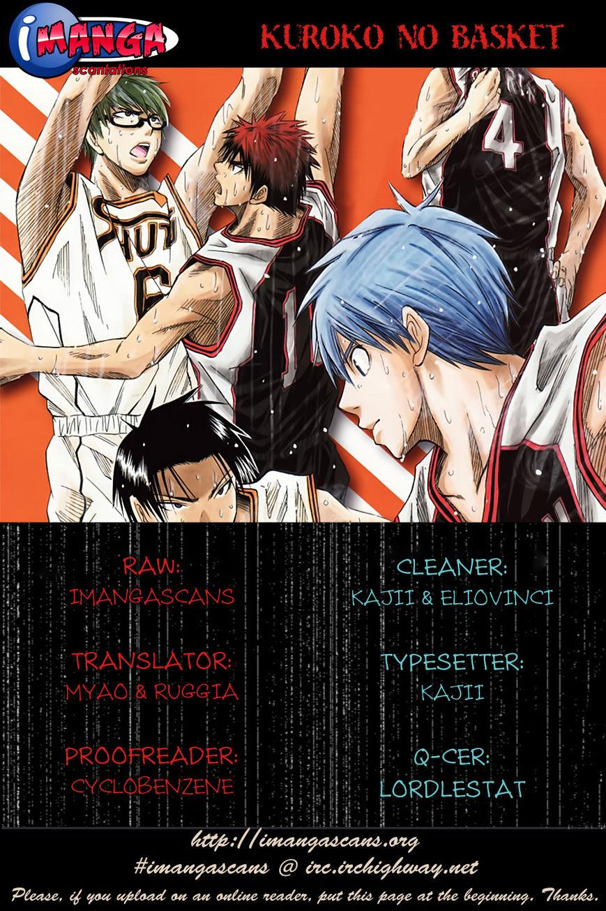 Kuroko no Basket 132 Page 1