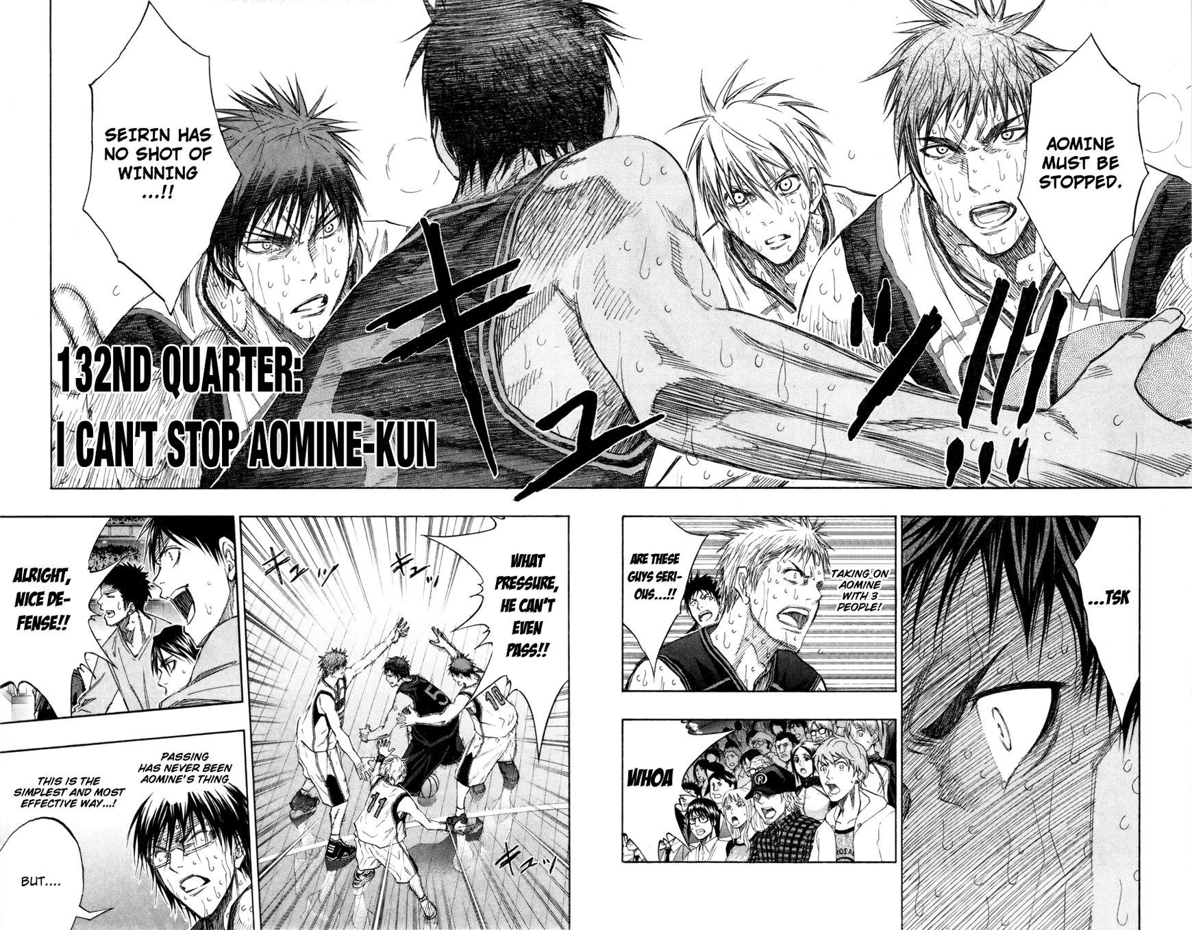Kuroko no Basket 132 Page 3