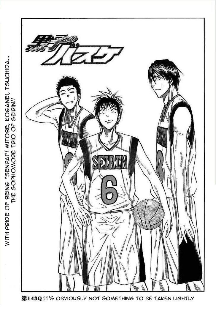Kuroko no Basket 143 Page 2