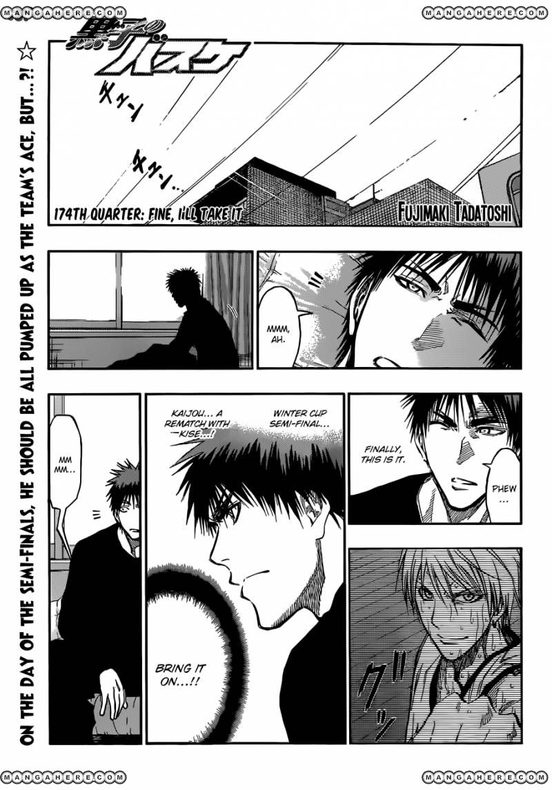 Kuroko no Basket 174 Page 1