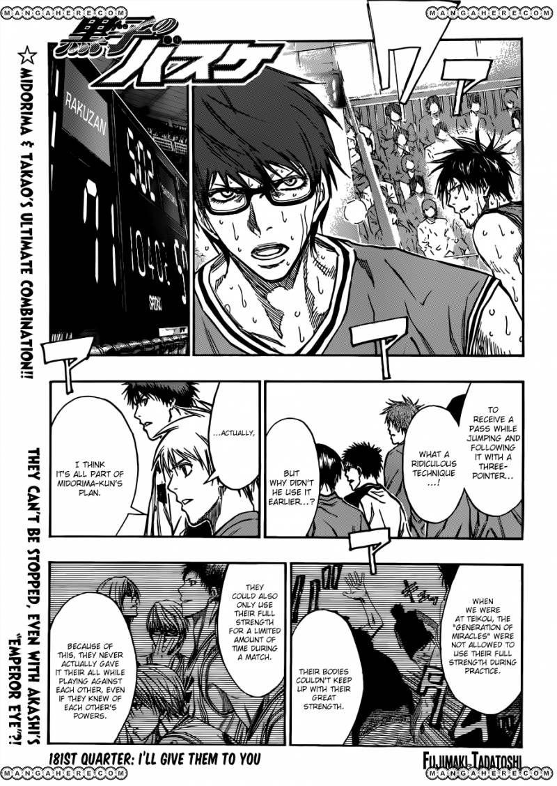 Kuroko no Basket 181 Page 1