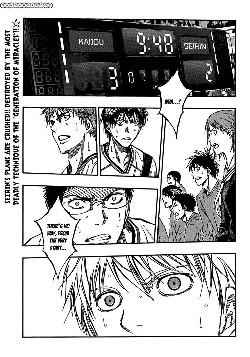 Kuroko no Basket 185 Page 1