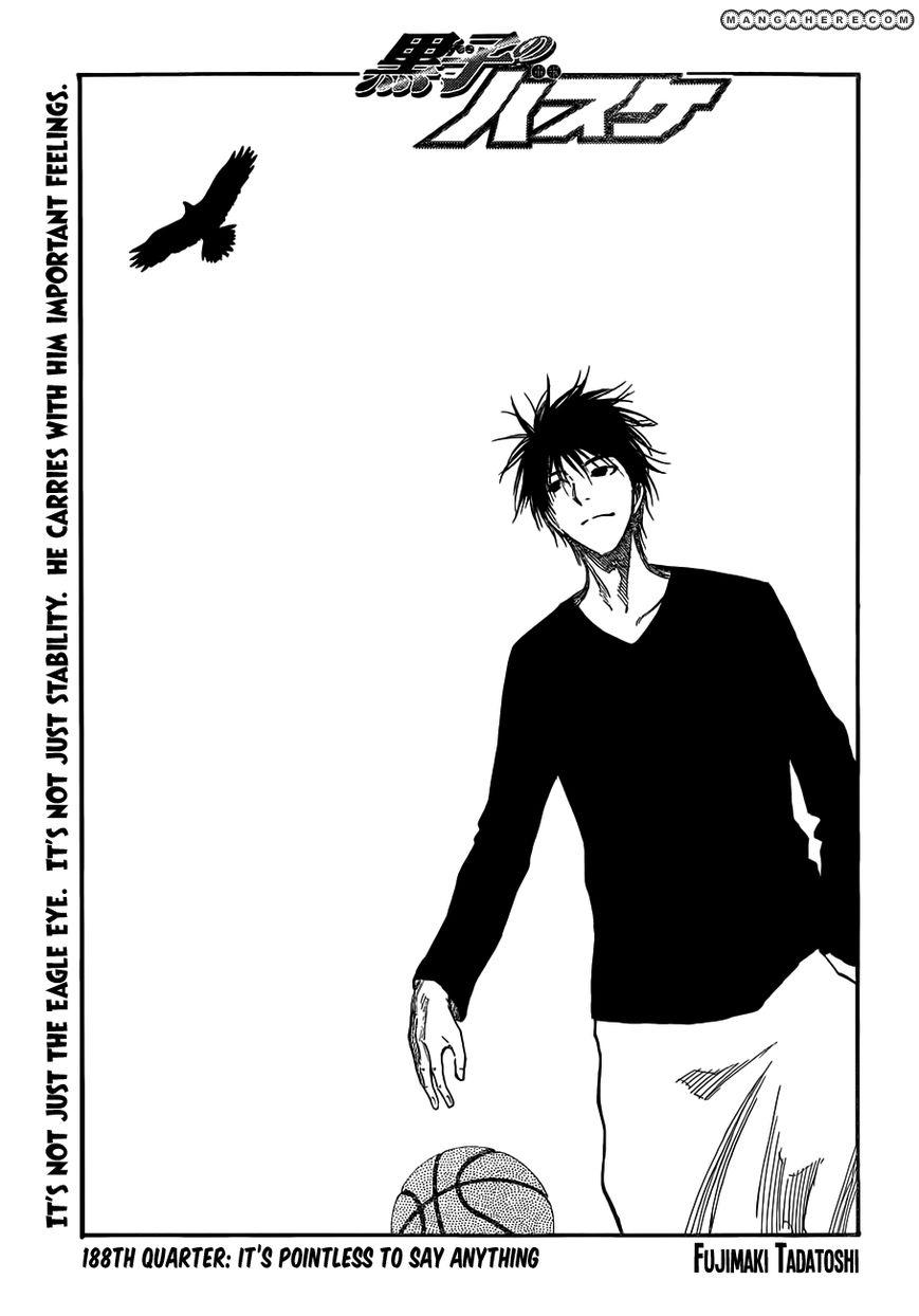 Kuroko no Basket 188 Page 1