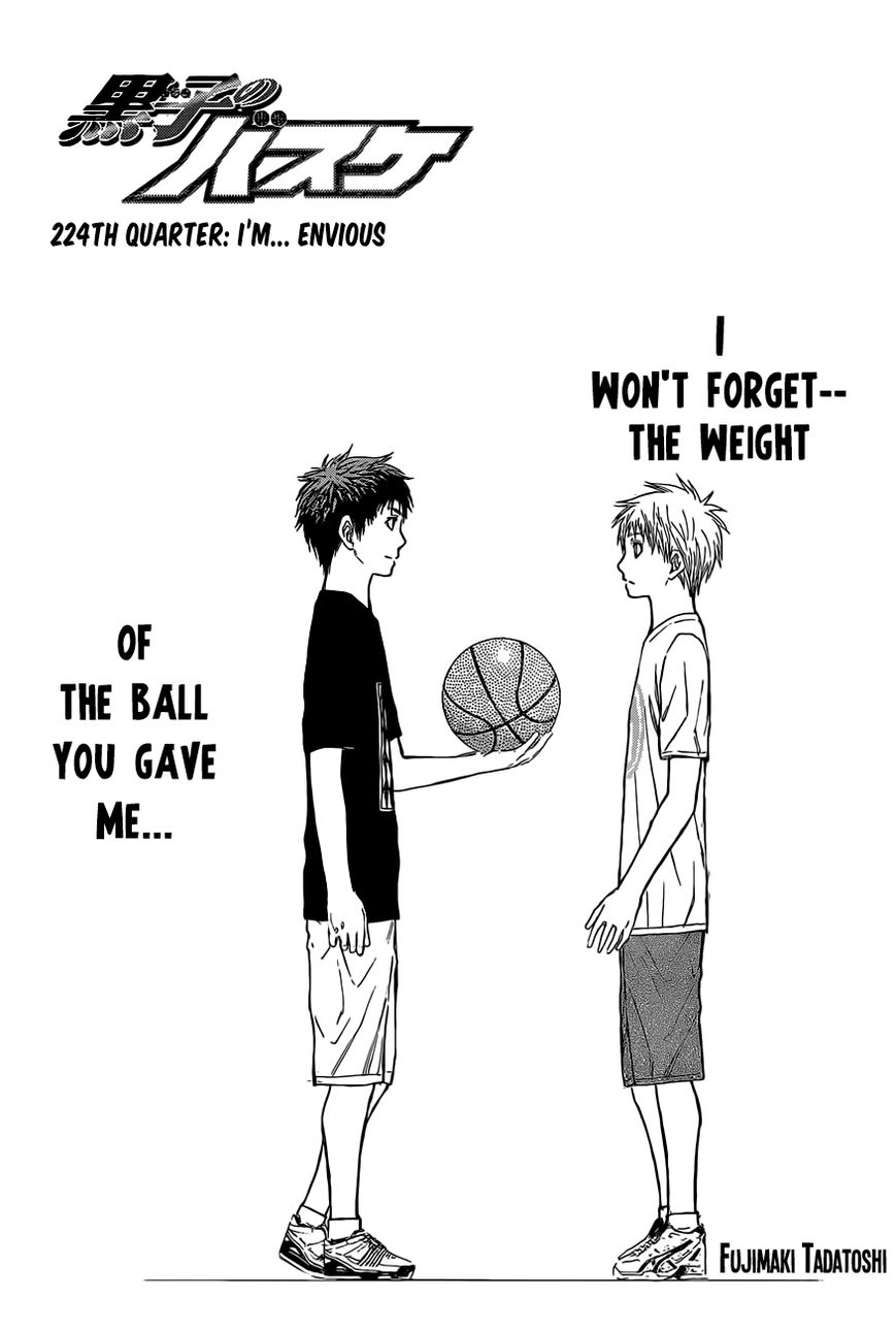Kuroko no Basket 224 Page 1