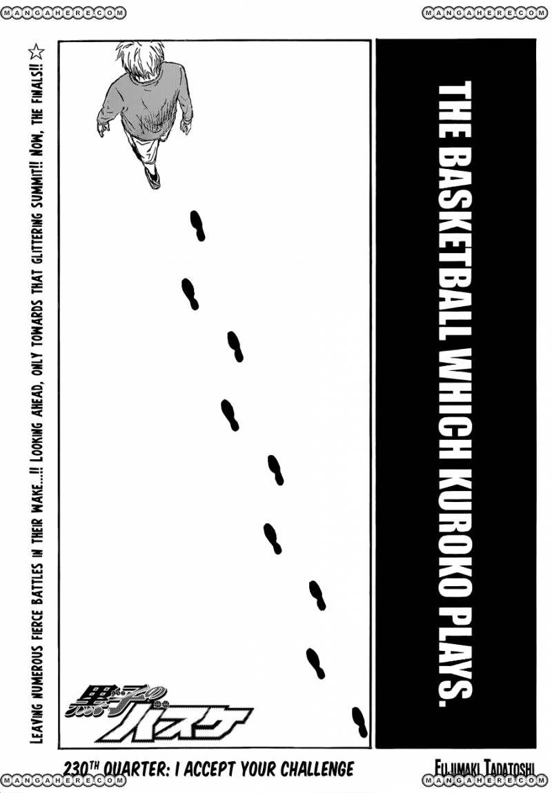 Kuroko no Basket 230 Page 1