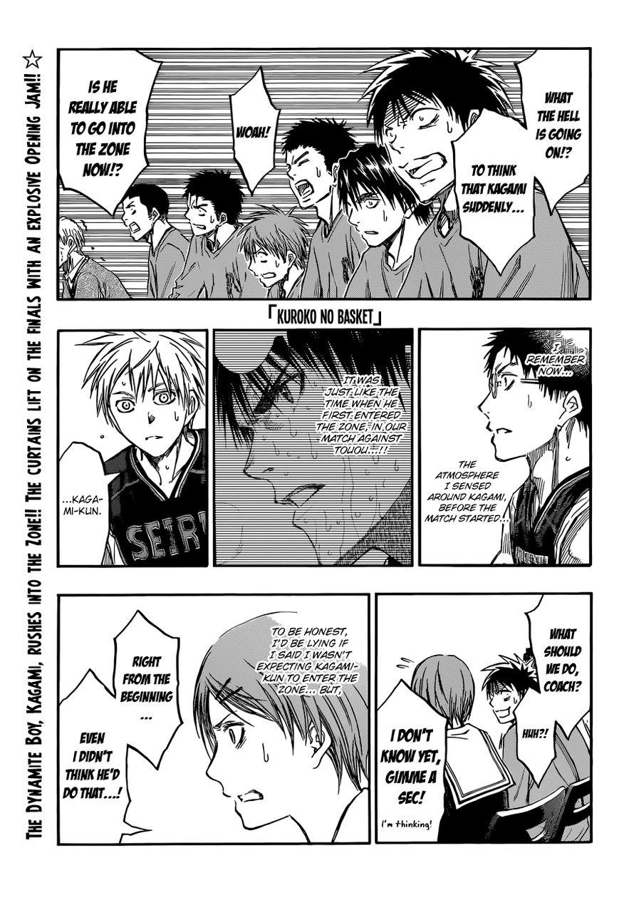 Kuroko no Basket 233 Page 1