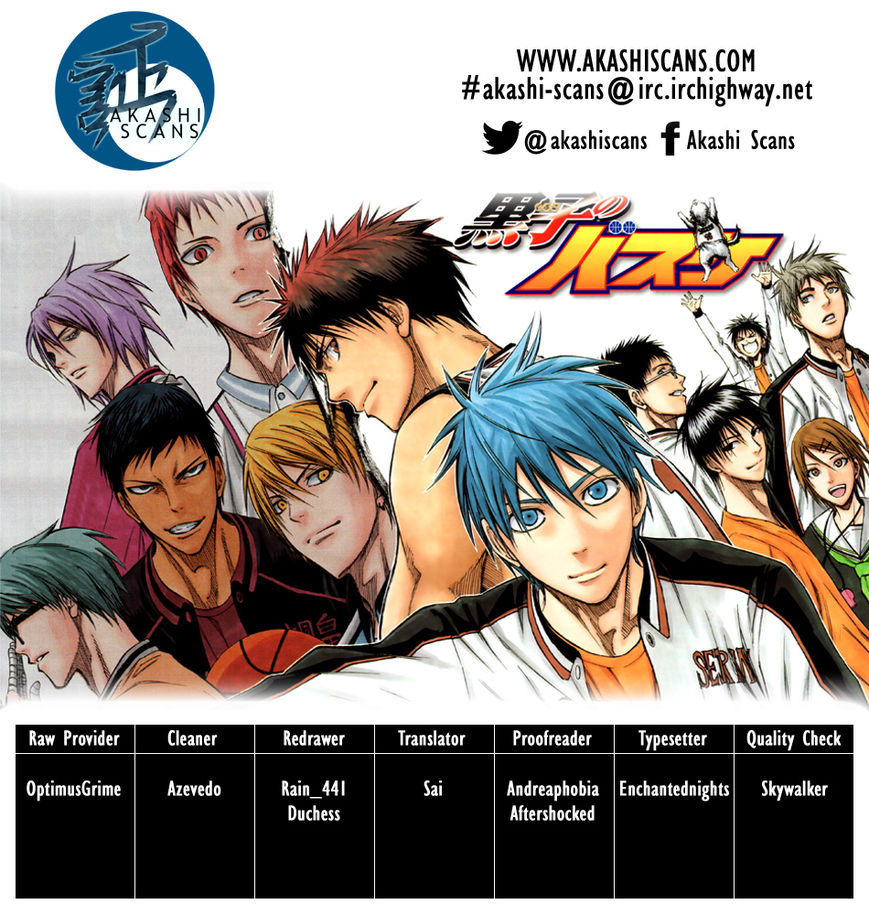 Kuroko no Basket 233 Page 2