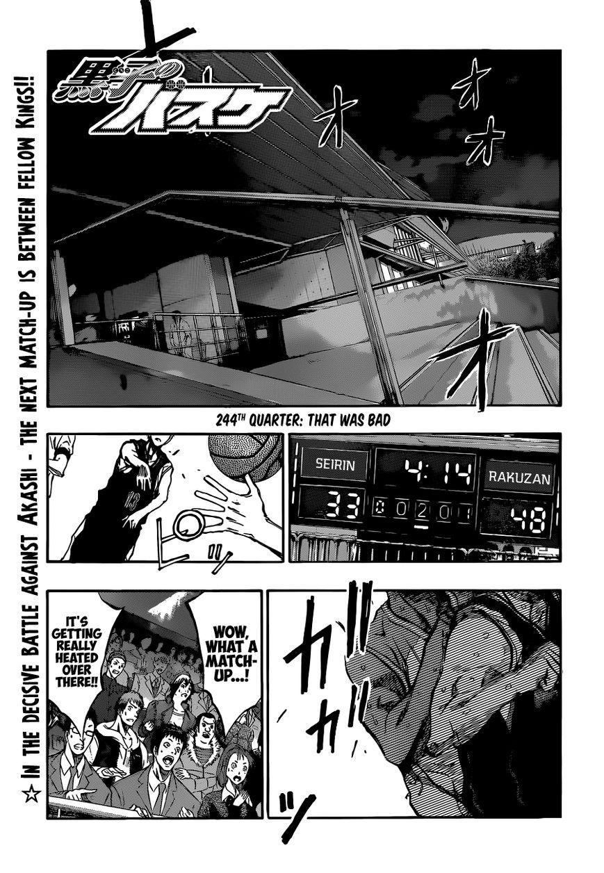 Kuroko no Basket 244 Page 1