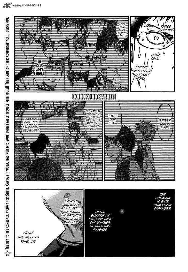 Kuroko no Basket 247 Page 1