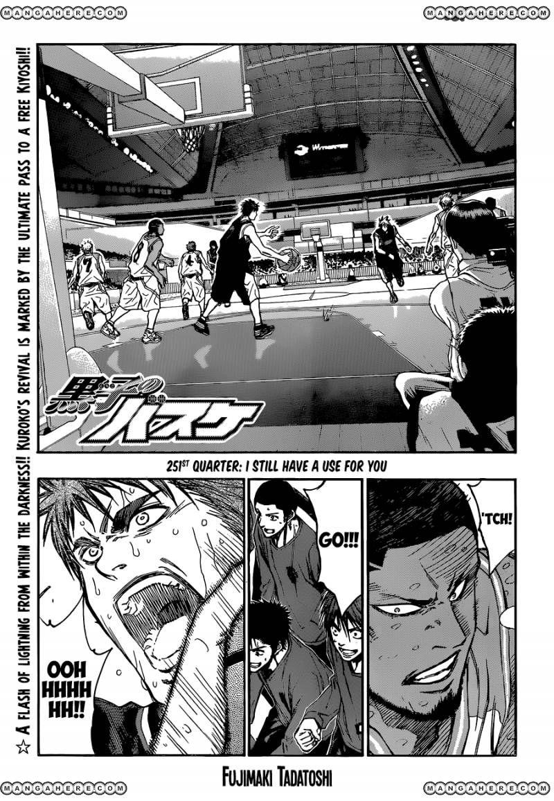 Kuroko no Basket 251 Page 1