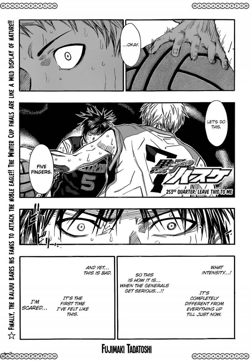Kuroko no Basket 253 Page 1