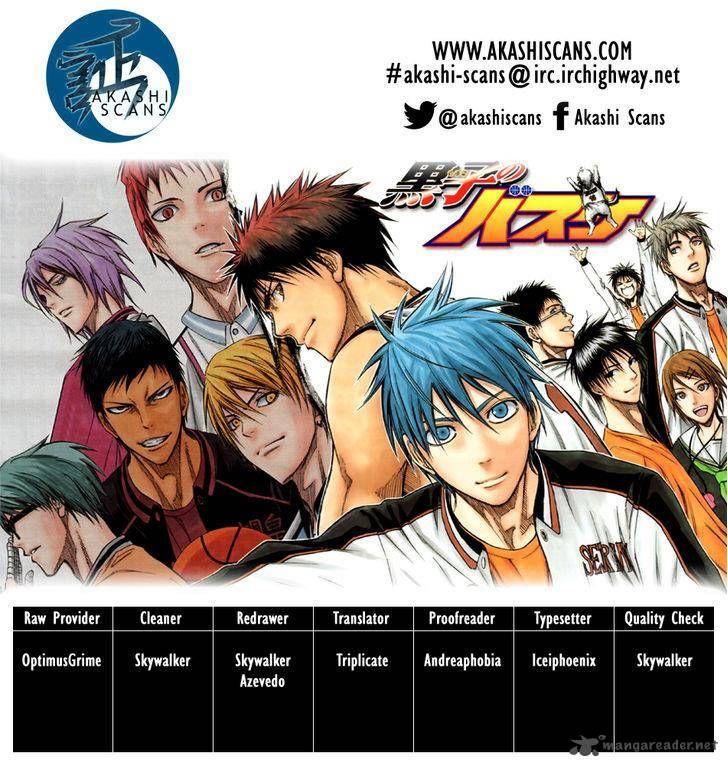 Kuroko no Basket 255 Page 2